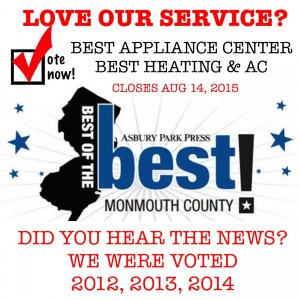 Vote For Best Appliance Repair Service Image In NJ - Immediate Appliance Repair