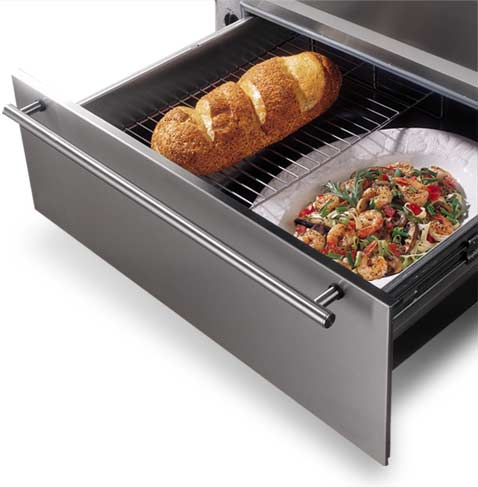 Do you know what a warming drawer is immediate appliance Can you put hot food in the refrigerator